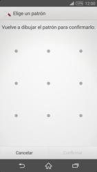 Desbloqueo del equipo por medio del patrón - Sony Xperia Z2 D6503 - Passo 9