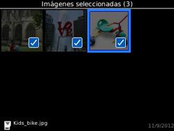Transferir fotos vía Bluetooth - BlackBerry Curve 9320 - Passo 9