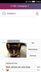Envía fotos, videos y audio por mensaje de texto - Huawei Y3 II - Passo 16
