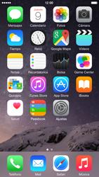 Uso de la navegación GPS - Apple iPhone 6 - Passo 2