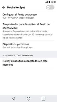 Configura el hotspot móvil - LG V20 - Passo 8