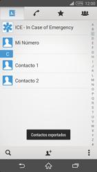 ¿Tu equipo puede copiar contactos a la SIM card? - Sony Xperia Z2 D6503 - Passo 10