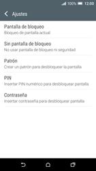 Desbloqueo del equipo por medio del patrón - HTC One A9 - Passo 6