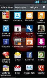 Transferir fotos vía Bluetooth - LG Optimus L7 - Passo 3