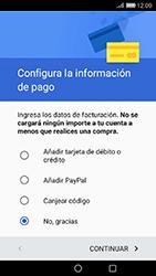 Crea una cuenta - Huawei Cam Y6 II - Passo 17