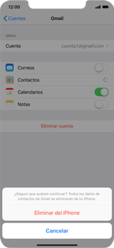 Desactivar la sincronización automática - Apple iPhone XS Max - Passo 6