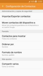 ¿Tu equipo puede copiar contactos a la SIM card? - Samsung Galaxy J5 - J500F - Passo 6