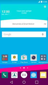 Comparte la conexión de datos con una PC - LG G4 - Passo 1