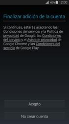 Crea una cuenta - Samsung Galaxy A3 - A300M - Passo 13