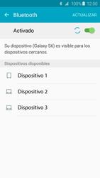Conecta con otro dispositivo Bluetooth - Samsung Galaxy S6 - G920 - Passo 6