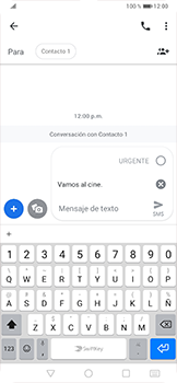 Envía fotos, videos y audio por mensaje de texto - Huawei P30 Pro - Passo 7
