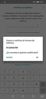 Configuración de Whatsapp - Huawei Mate 20 Lite - Passo 6