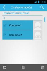 ¿Tu equipo puede copiar contactos a la SIM card? - Motorola RAZR D1 XT914 - Passo 9