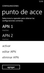 Configura el Internet - Nokia Lumia 520 - Passo 20