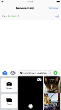 Envía fotos, videos y audio por mensaje de texto - Apple iPhone 8 Plus - Passo 10