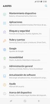 Actualiza el software del equipo - Samsung Galaxy S8+ - Passo 5