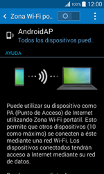 Configura el hotspot móvil - Samsung Galaxy Core 2 - G355 - Passo 10