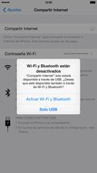 Configura el hotspot móvil - Apple iPhone 6 Plus - Passo 7
