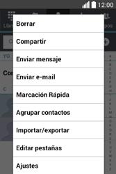 ¿Tu equipo puede copiar contactos a la SIM card? - LG L40 - Passo 5