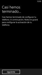 Activa el equipo - Nokia Lumia 1320 - Passo 14