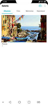 Transferir fotos vía Bluetooth - LG G7 Fit - Passo 4