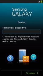 Activa el equipo - Samsung Galaxy S4  GT - I9500 - Passo 19