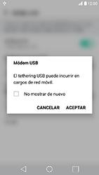Comparte la conexión de datos con una PC - LG K10 2017 - Passo 6