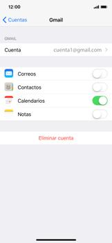 Desactivar la sincronización automática - Apple iPhone X - Passo 7