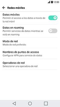 Configura el Internet - LG V20 - Passo 5