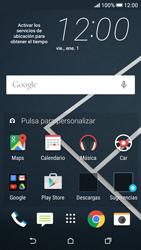 Desactiva tu conexión de datos - HTC Desire 626s - Passo 1