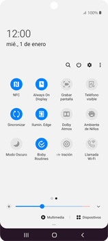 Cómo grabar pantalla - Samsung Galaxy S10 Lite - Passo 4