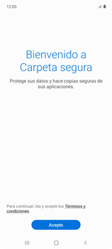 Cómo habilitar Carpeta Segura - Samsung Galaxy A51 - Passo 6