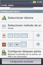 Configura el Internet - Motorola MotoSmart Me  XT303 - Passo 4