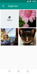 Envía fotos, videos y audio por mensaje de texto - Motorola Moto E5 Play - Passo 11