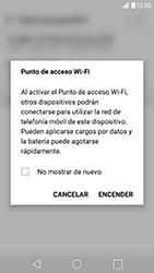 Configura el hotspot móvil - LG G5 SE - Passo 9