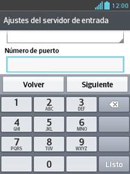 Configura tu correo electrónico - LG Optimus L3 II - Passo 14