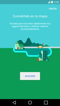 Uso de la navegación GPS - LG V10 - Passo 6