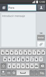 Envía fotos, videos y audio por mensaje de texto - LG L70 - Passo 4
