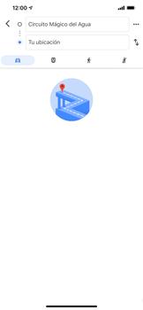 Uso de la navegación GPS - Apple iPhone 11 - Passo 14