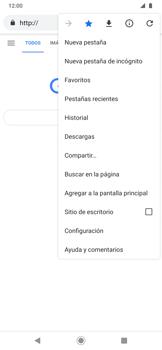 Navegar por internet - Motorola One Zoom - Passo 12