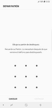 Desbloqueo del equipo por medio del patrón - Samsung Galaxy Note 8 - Passo 7