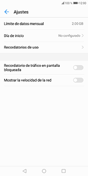 Desactivación límite de datos móviles - Huawei Y6 2018 - Passo 10