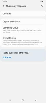 Realiza una copia de seguridad con tu cuenta - Samsung Galaxy A80 - Passo 5
