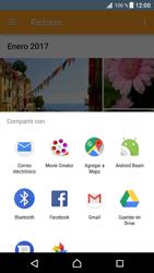 Transferir fotos vía Bluetooth - Sony Xperia XZ Premium - Passo 12