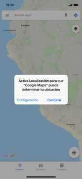 Uso de la navegación GPS - Apple iPhone XS Max - Passo 4