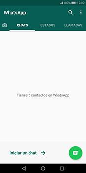 Usar WhatsApp - Huawei Mate 10 Pro - Passo 3