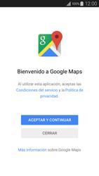 Uso de la navegación GPS - Samsung Galaxy A3 - A300M - Passo 4