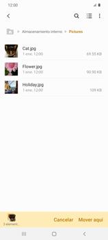 Transferir datos desde tu dispositivo a la tarjeta SD - Samsung Galaxy S20 - Passo 9