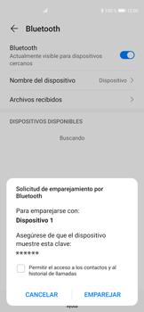 Conecta con otro dispositivo Bluetooth - Huawei P40 - Passo 6