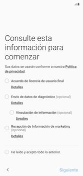 Activa el equipo - Samsung Galaxy Note 10 - Passo 5